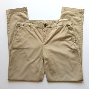 NWT Gap Khakis Broken In Straight Stretch Relaxed